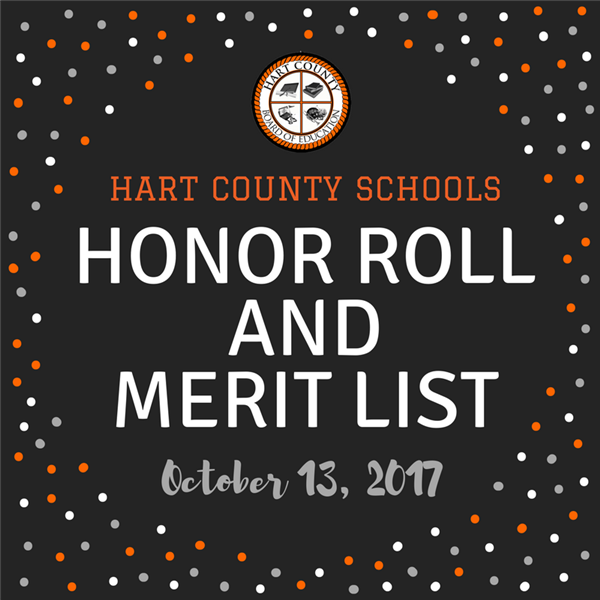 Honor Roll and Merit List Announced