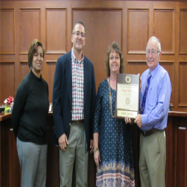 Outgoing Board Members Recognized