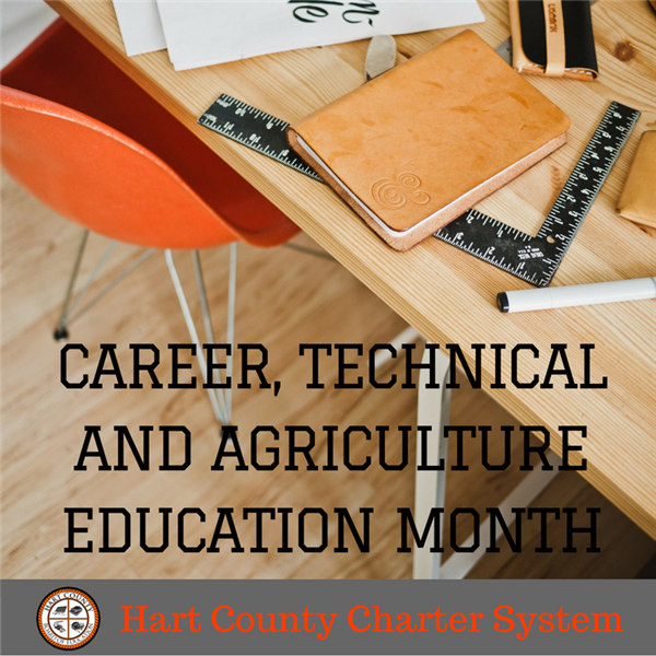 Hart County Charter System Celebrates CTAE Month