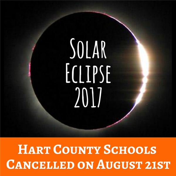 School Cancelled for Solar Eclipse