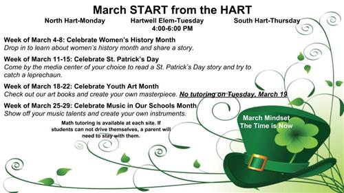 March Start from the Hart
