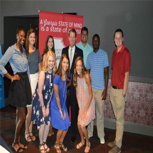 HCHS Students Ambassadors for Georgia Secretary of State