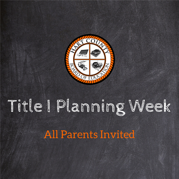 Parents Invited to Title I Planning Week
