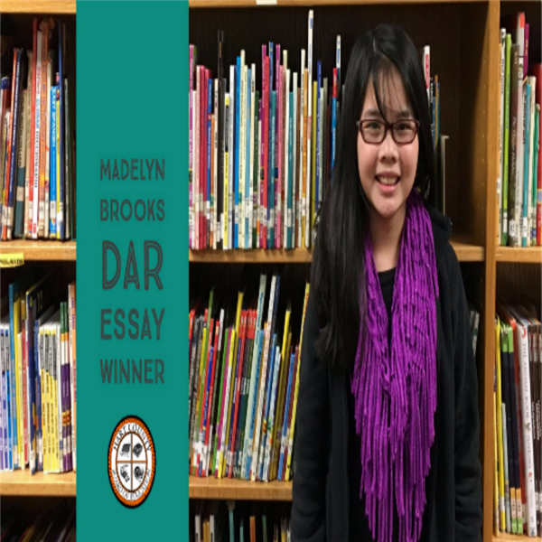 Madelyn Brooks, DAR Essay Contest Winner