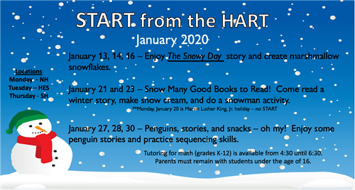 start from the hart jan