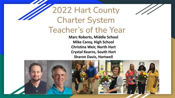 Hart County Teacher's of the Year